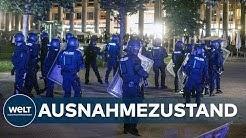 RANDALE IN STUTTGART: Geplünderte Geschäfte und verletzte Polizisten