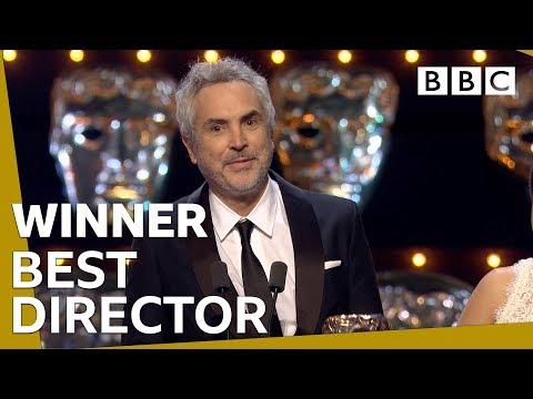 Alfonso Cuarón wins Best Director BAFTA 2019 🏆- BBC