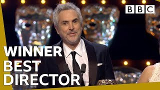 Alfonso Cuarón wins Best Director BAFTA 2019 🏆- BBC