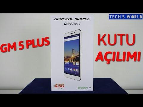 General Mobile GM 5 Plus Kutu Açılımı