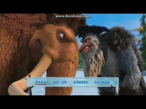 Epoka Lodowcowa 4 (Ice Age 4) DVD Menu