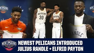 Elfrid Payton & Julius Randle Introductory Press Conference
