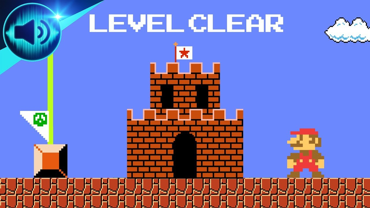 [Super Mario Bros] Stage Clear Theme Sound Effect [Free Ringtone Download]