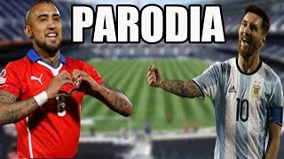 Argentina vs Chile Copa America Centenario (Parodia) | Fiebre cule