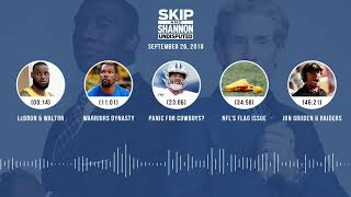 UNDISPUTED Audio Podcast (9.26.18) with Skip Bayless, Shannon Sharpe & Jenny Taft   UNDISPUTED