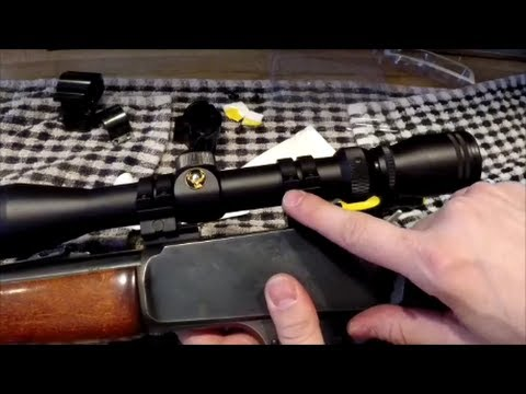 Changing The Scope Mount On A Marlin 30 30 Lever Action