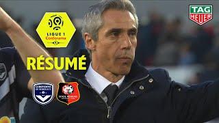Girondins de Bordeaux - Stade Rennais FC ( 1-1 ) - Résumé - (GdB - SRFC) / 2018-19