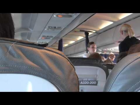 Lufthansa Economy A320-200 Frankfurt to Copenhagen