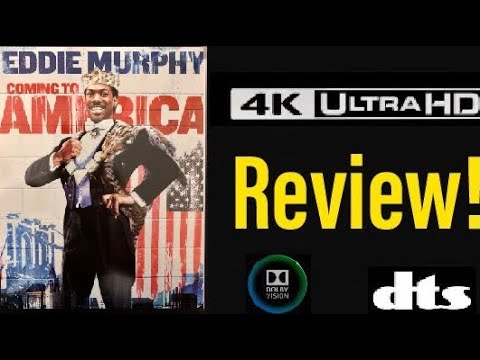 Download Coming to America (1988) 4K UHD Blu-ray Steelbook Review!
