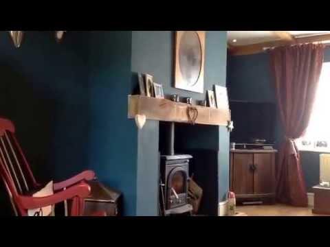 Hunting Lodge Theme Living Room Tour Shabby Chic Alternative Decor From Bamtilly Uk
