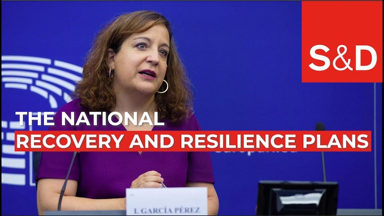 Iratxe García Pérez on the national recovery and resilience plans