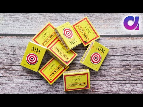 Best use of waste matchboxes | DIY arts & Craft | Room decor 2019 | Artkala