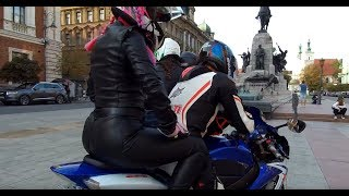 Circling a chimney - Cracow bikers autumn 2018 (Motocyklem wokół komina - Kraków)