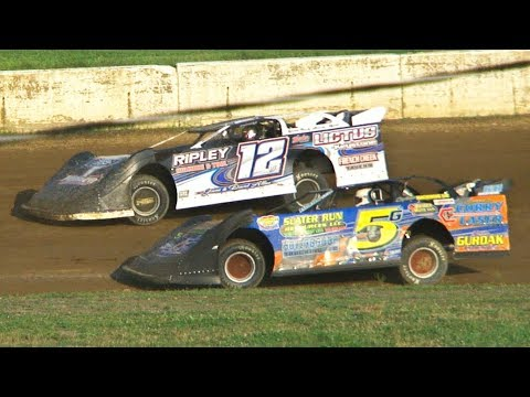 RUSH Crate Late Model Heat Two | Eriez Speedway | 8-4-19