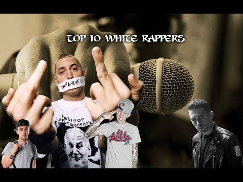 Top Ten White Rappers   Eminem Logic NF Mac Miller MGK who is #1  