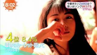 めざましどようび 2017/01/28 (1080p フルHD) 坂井泉水さん死去から10年...