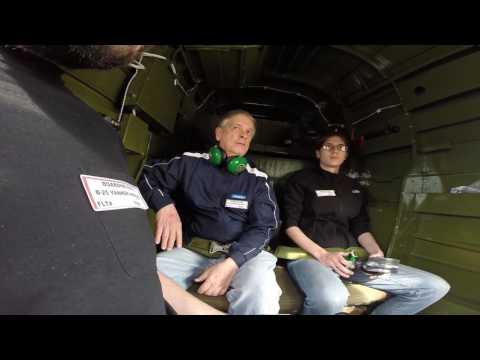 Riding around in The Yankee Warrior B-25D