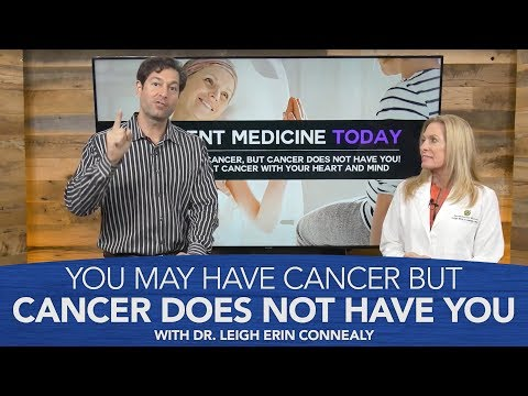You May Have Cancer But Cancer Does Not Have You