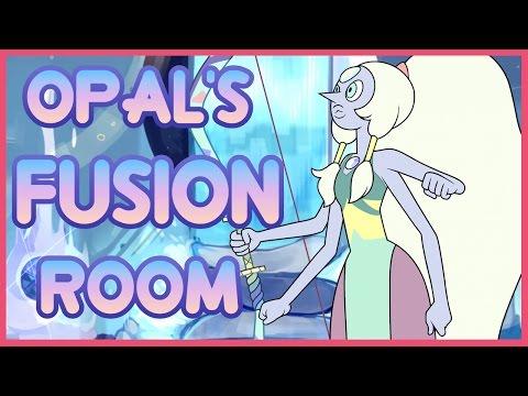 Steven Universe: Opal's Fusion Room Fan Art