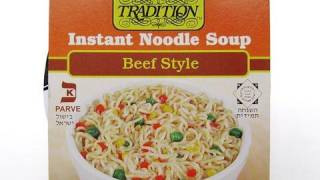 No.4069HD Tradition (USA) Instant Noodle Soup, Beef Style