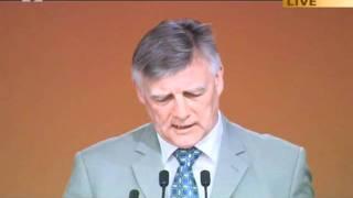 Steve McCabe, Member of Parliament Birmingham at Ahmadiyya Muslim Jalsa UK 2011