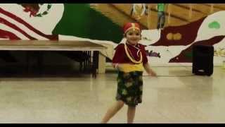 "Cute girl dancing in ""Yo Ho Mero Pran Bhanda Pyaro"" - Maitighar (Nepali Song)"