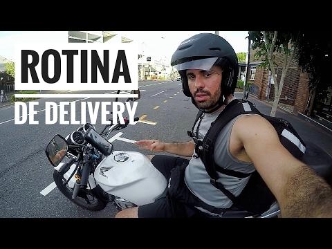 #16 - MINHA ROTINA DE DELIVERY | GO TO AUSTRÁLIA