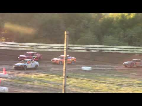 Hummingbird Speedway (9-15-18): 9/1 Aaron's Four-Cylinder Make-Up Feature
