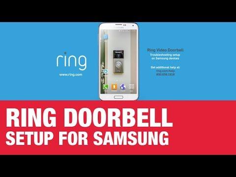 Ring Smart Doorbell Setup for Samsung - Ace Hardware