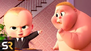 10 Awkward BOSS BABY Moments That Made Kids Scratch Their Heads