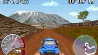 V-Rally 3 GBA Gameplay