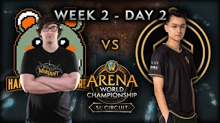 Hamsters & Hares vs Golden Guardians​ | Week 2 Day 2 | AWC SL Circuit