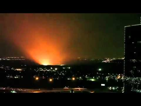 Alien Attack in Fort Worth Texas 11 5 20111