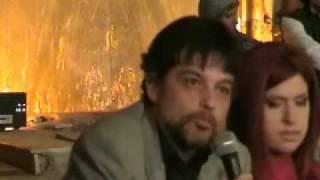 "EMANUELA PETRONI in Conferenza stampa 3 "" Anime di carta """