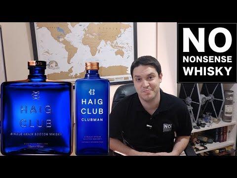 Haig Club vs Haig Club Clubman | No Nonsense Whisky #65