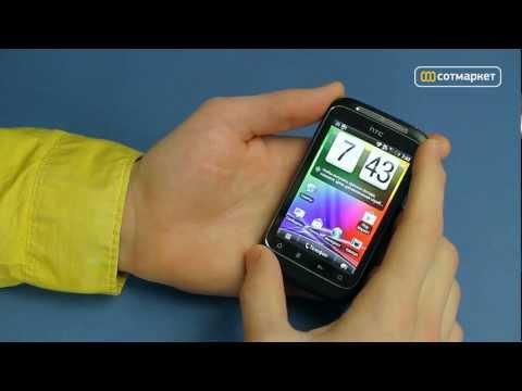 Видео обзор HTC Wildfire S от Сотмаркета