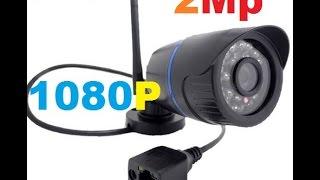 Посылка из Китая 2.0 мегапиксельная WiFi IP-камера, снимающая в HD качестве, с разрешением 1080p