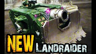 NEW LANDRAIDER for 40k FW Typhon HH