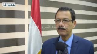 بالفيديو: أحمد درويش نشكر إتحاد المقاولون العرب علي تعاونهم مع هيئة قناة السويس