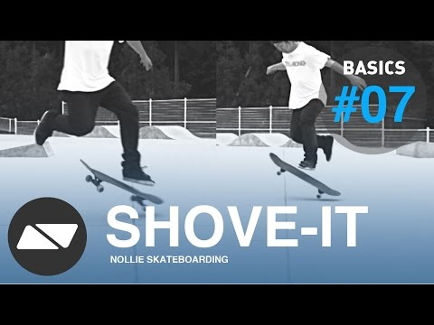 SHOVE-IT [SKATEBOARDING START TUTORIAL #7.0]