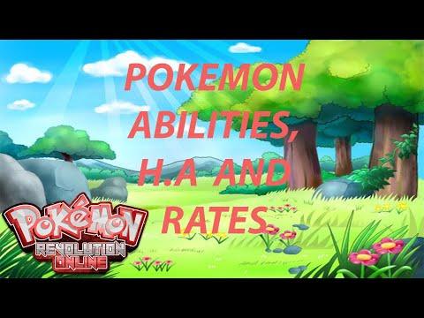 Beginner's Guide: Abilities, Hidden Abilities and Rates - Pokemon Revolution Online