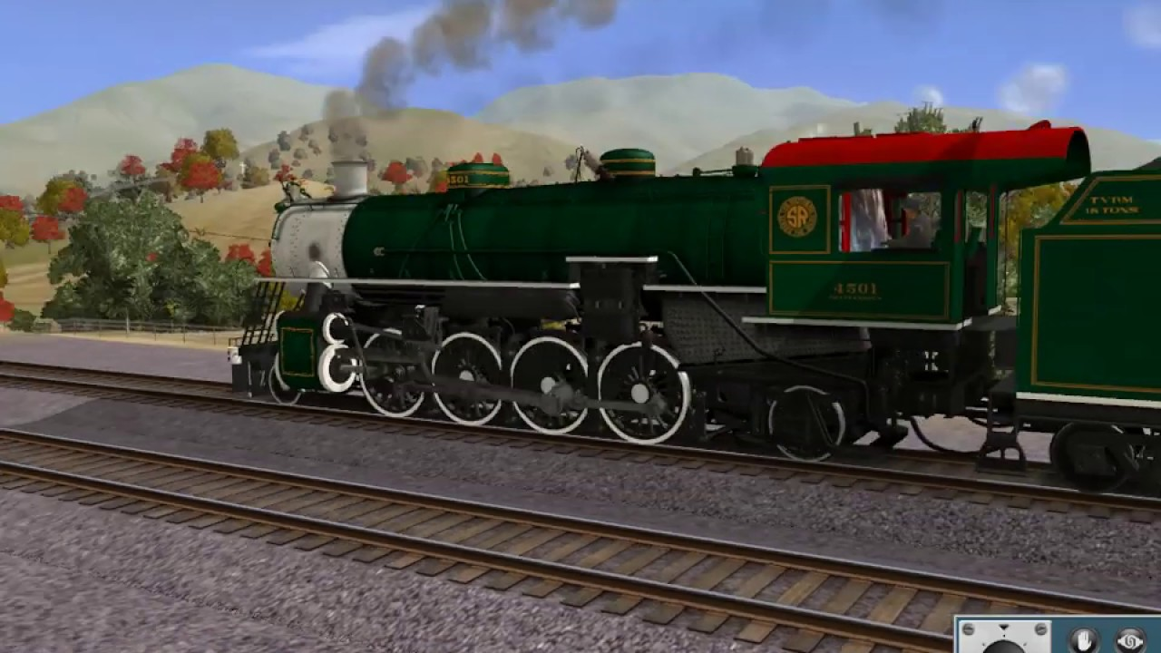 Trainz 12: 4501, 611, and 1218 Tripleheader Part 35: Marcel to Woodford