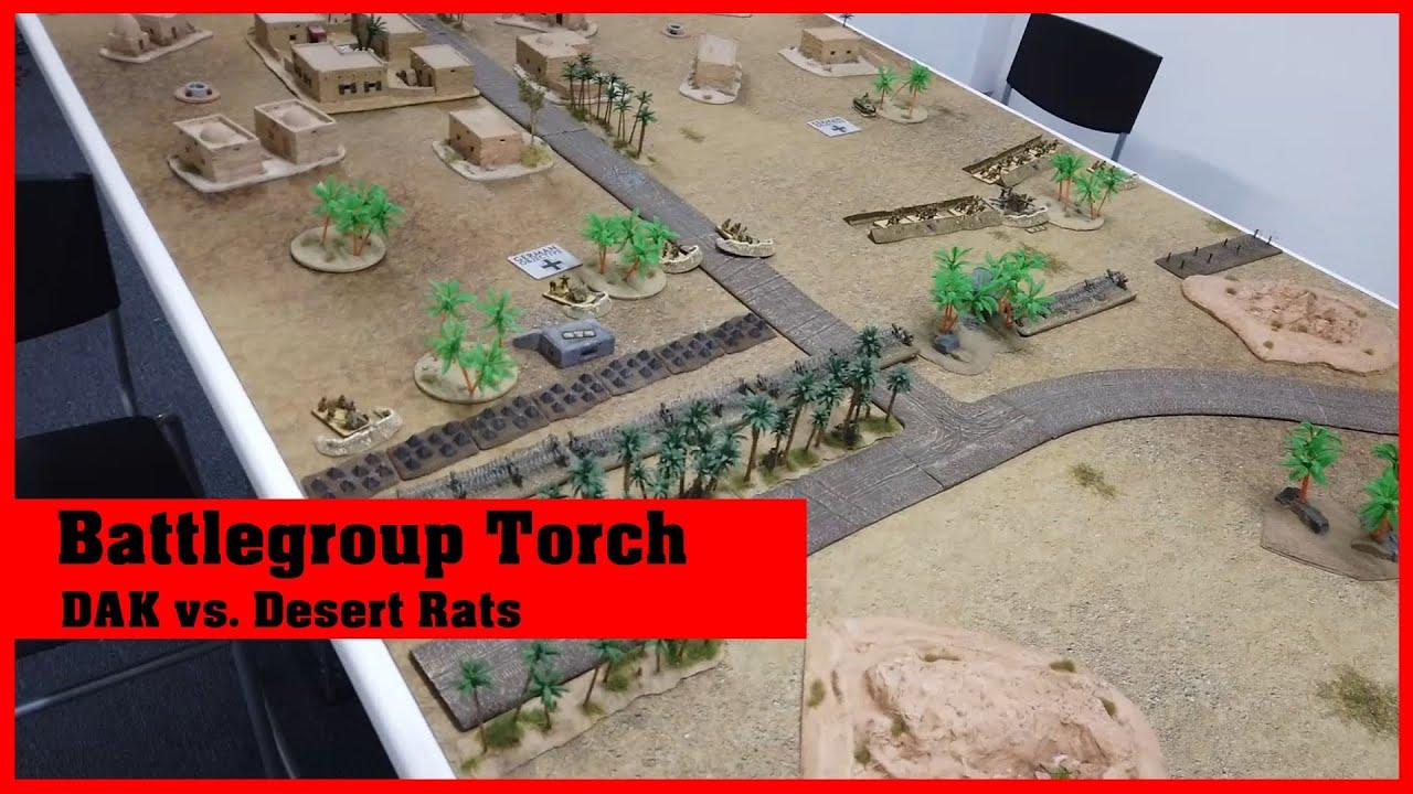 Battlereport: Battlegroup Torch DAK vs Desert Rats
