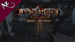 Syndrome - Quick Game Review
