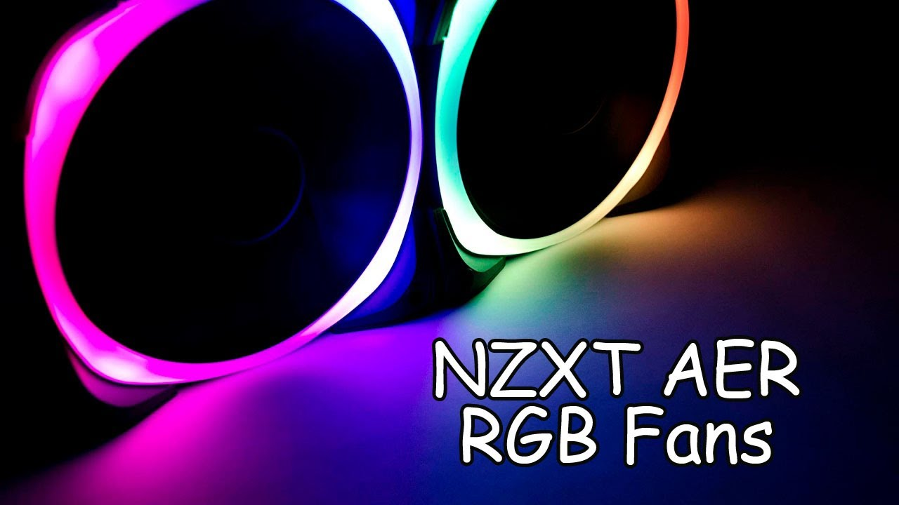 NZXT AER RGB120 and HUE+ Review - EnosTech com