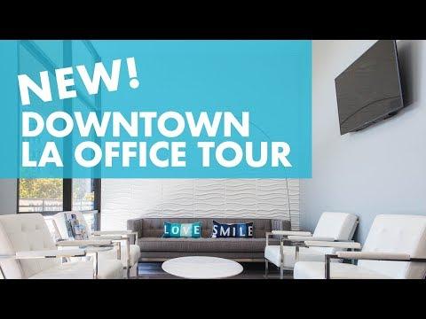 New Downtown Los Angeles Office Tour – Visit Us! | LA Dental Clinic