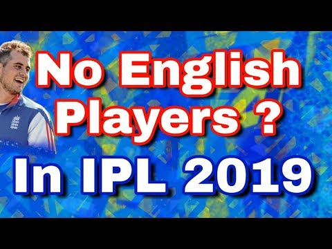 IPL 2019 : No English Players In Next IPL as ECB To Makes Players Choose Between County