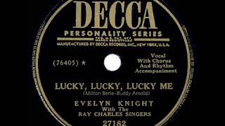 Hyundai song 1950 HITS ARCHIVE Lucky Lucky Lucky Me Evelyn Knight