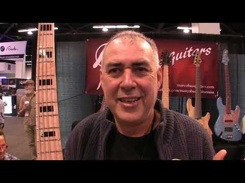 Marco Bass P And J Bass At NAMM 2020   MikesGigTV