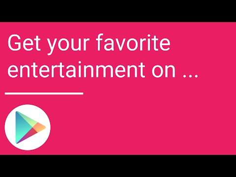 Get your favorite entertainment on Google Play
